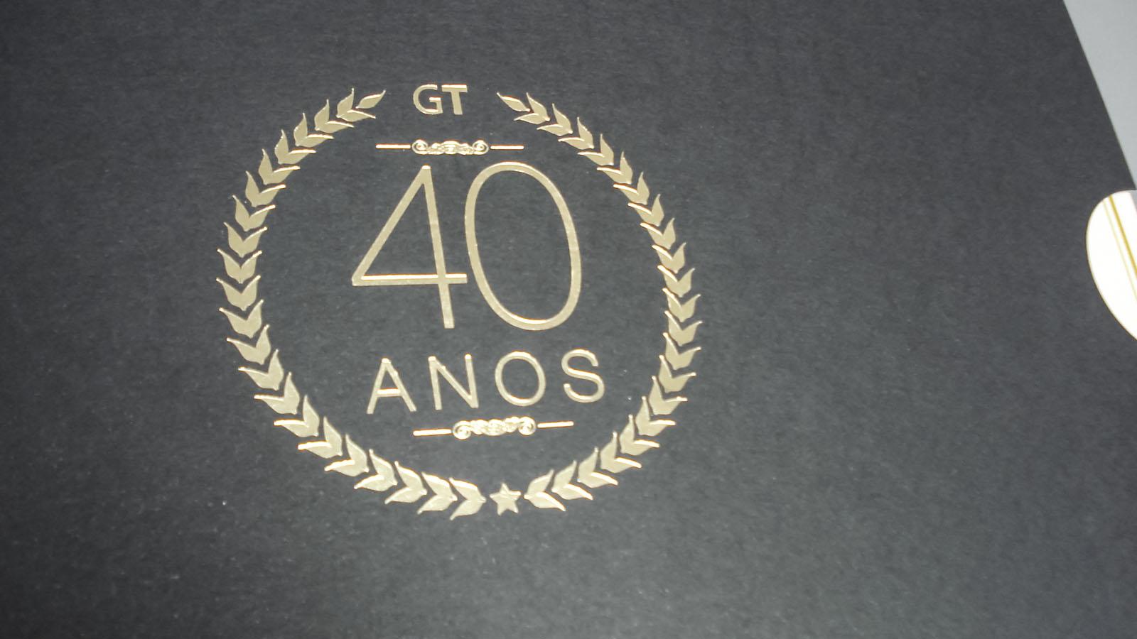 Logotipo em hot stamping